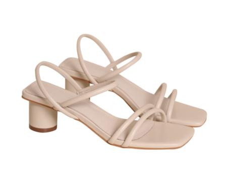"""INTENTIONALLY __________."" SAMPLE Hi-Ya sandals - Cream"