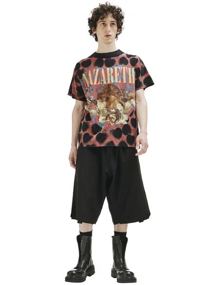 Saint Michael Nazareth Printed T-shirt - black
