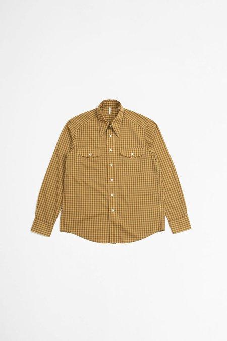 Sunflower Wayne Shirt - Brown Check