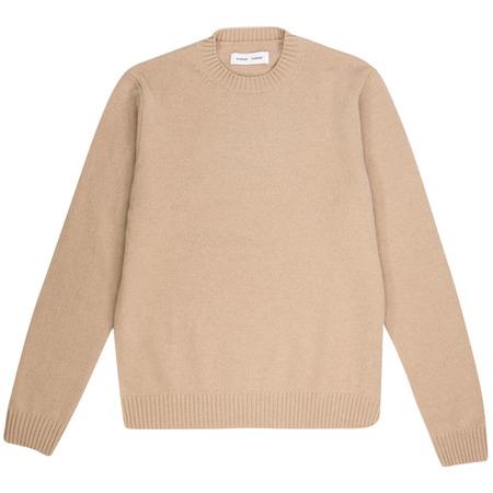 Samsøe & Samsøe sylli crew neck 132 sweater - Humus