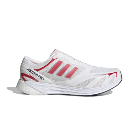 adidas Adizero Pro DNA  Shoes  - White/Red