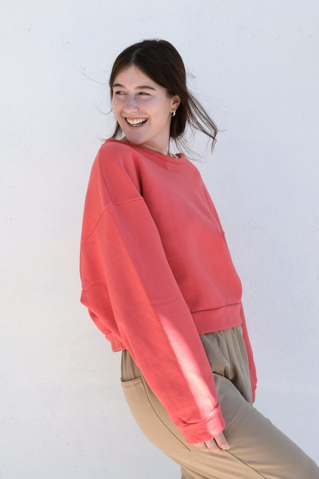 Atelier Delphine Beatrice Sweatshirt - Vintage Red