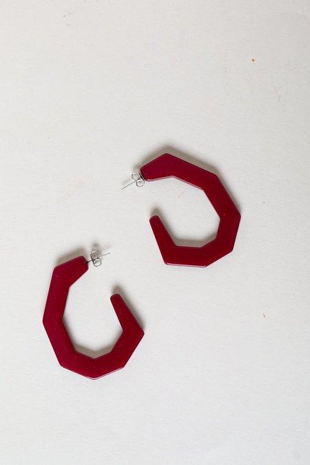 Baby Factor Earrings - Bordeaux