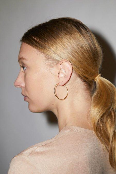 NINFA Snake Earrings - Black & White