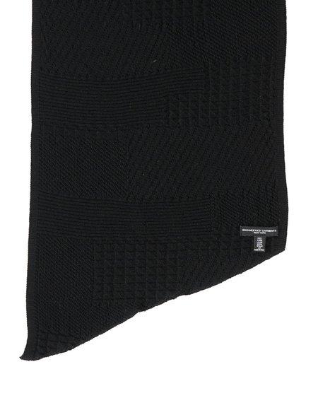 Engineered Garments Wool Knit Scarf - Black