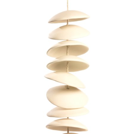 Fettle & Fire Ceramic Chimes - Ivory