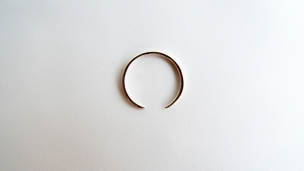 WWAKE Think Open Silver Ring