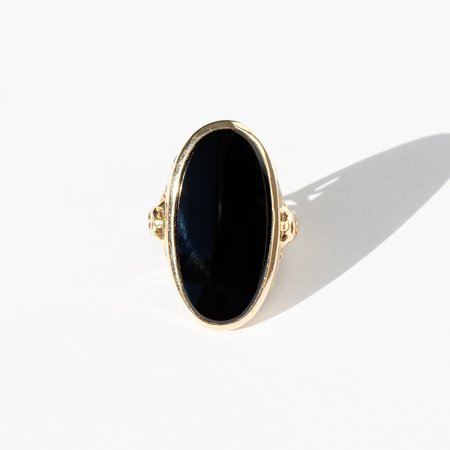 Kindred Black Harrington Ring - 14k gold