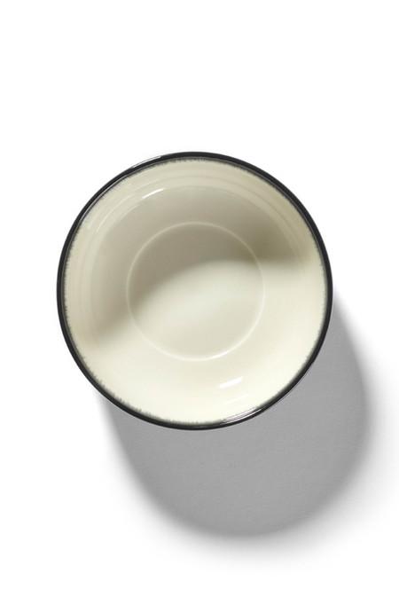 Ann Demeulemeester Var D DÉ 13cm High Plate - Off-White Black