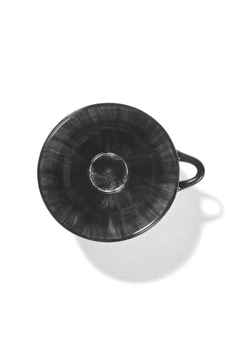Ann Demeulemeester 20 cl Var C Cup - Off-White/Black