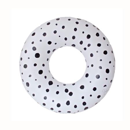 And Sunday Bubbles Oversized Pool Tube - white/Black
