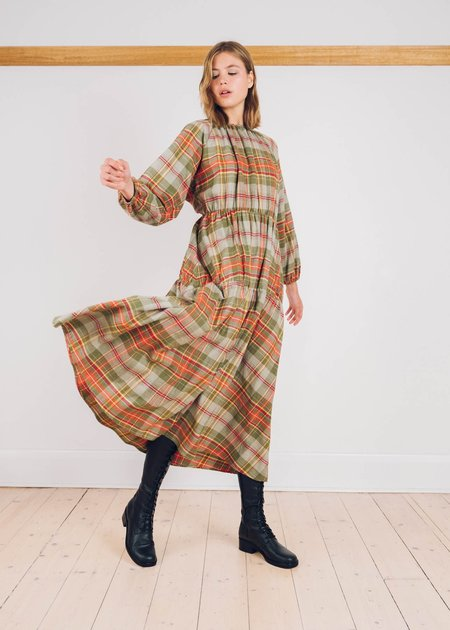 FME Apparel The Tilly Flannelette Dress - multi