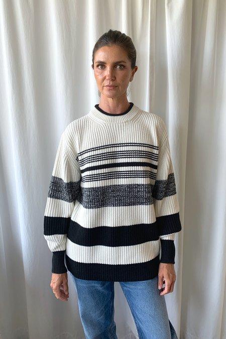 Proenza Schouler White Label Lofty Stripe Sweater