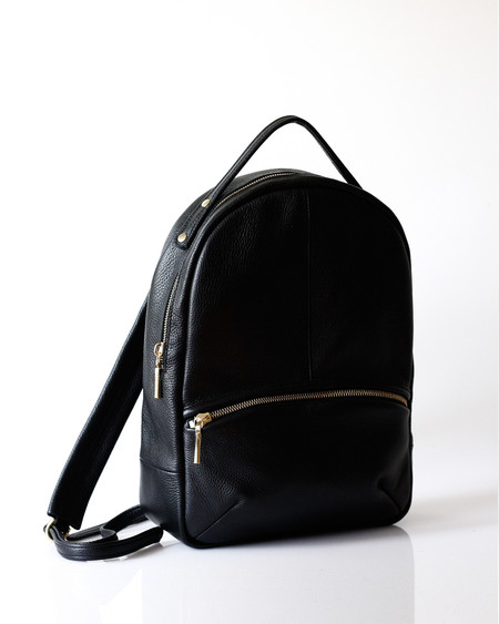 Opelle leather Kayne baby backpack