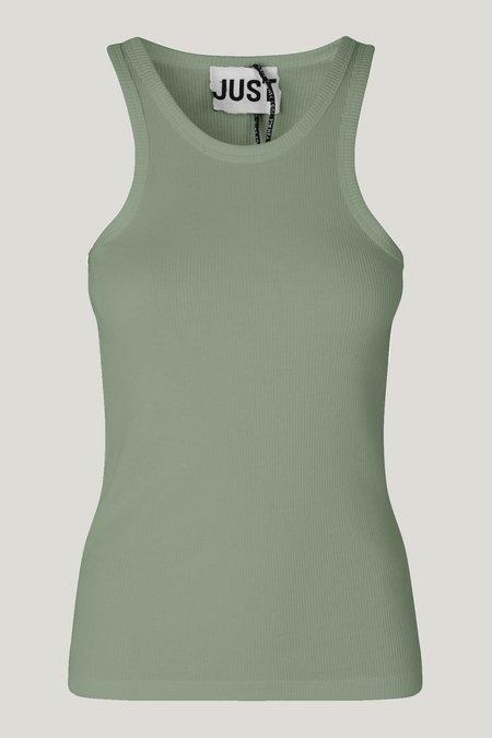 Just Female Rancho tank top - green