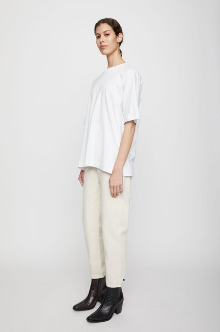 Just Female System Tee - white