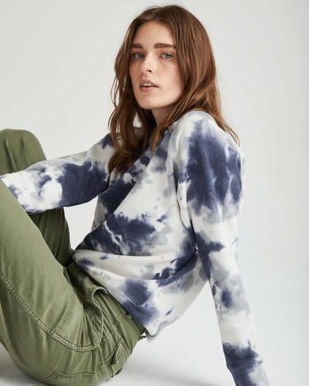 Richer Poorer recycled fleece sweatshirt - bluestorm