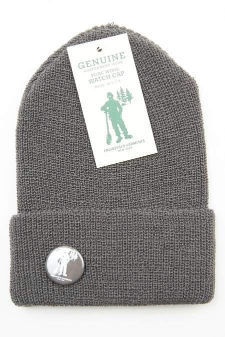 Engineered Garments Wool Watch Cap - Grey