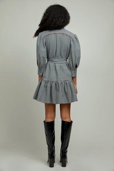 CHRISTY LYNN Emi Dress - Gingham Black