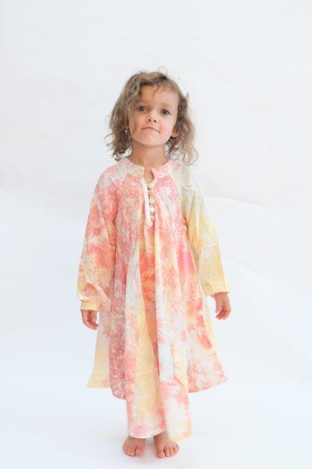 Kids Natalie Martin Fiore Maxi - Sunrise Tie Dye