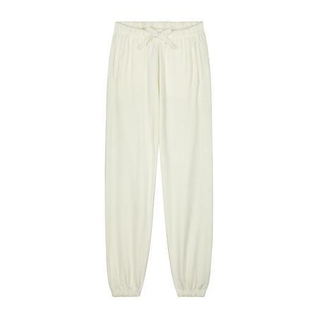 gray label track pants adult - cream