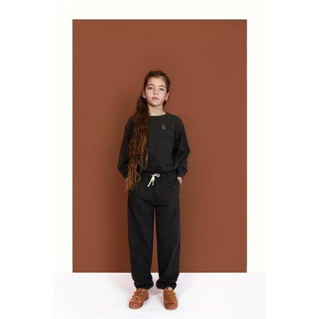 Kids Gray label track pants - black