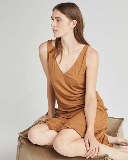 Richer Poorer Woodgrain Night Slip Dress - Woodgrain