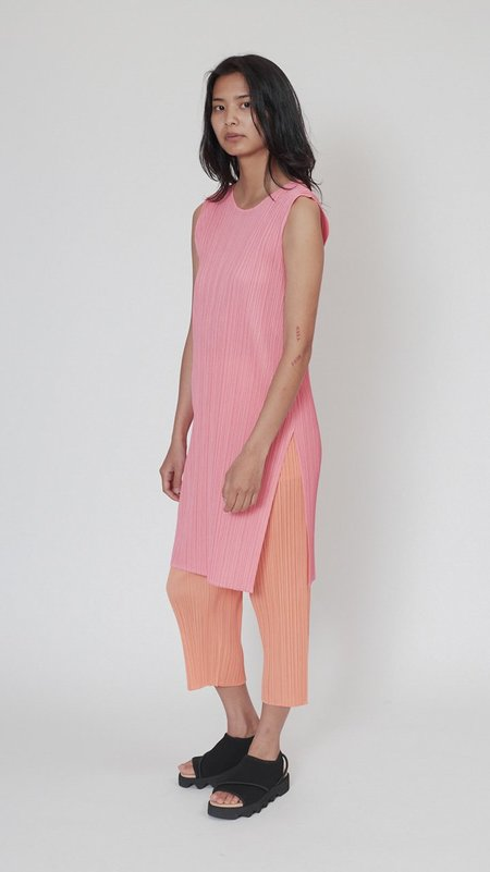 Issey Miyake Pleats Please Bouquet Colors Dress - Coral Pink