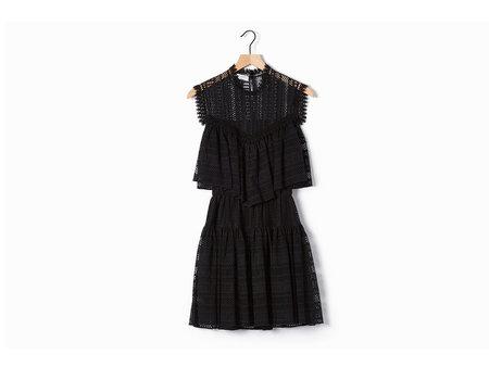 Philosophy di Lorenzo Serafini Black Lace Dress