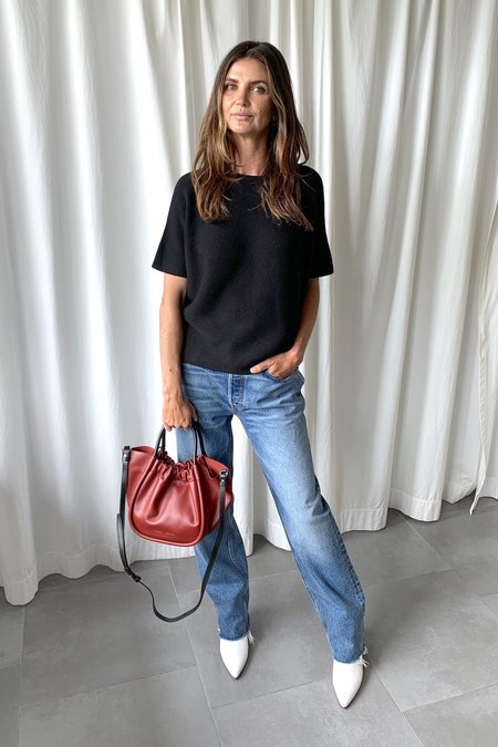Proenza Schouler Small Ruched Tote - Syrah