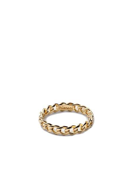 Miansai CUBAN LINK RING - GOLD