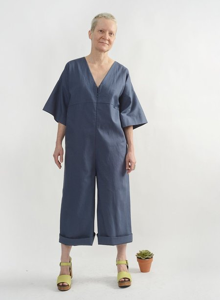 Meg Everyday Jumpsuit - Blue