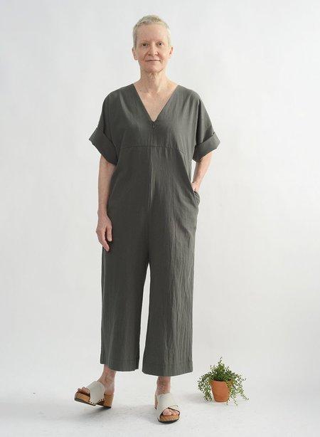 Meg Everyday Jumpsuit  - Army Green