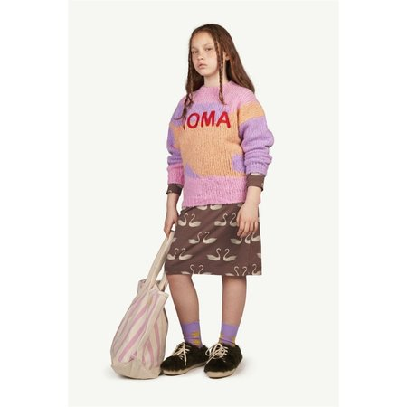 kids the animals observatory city bull sweater - pink roma