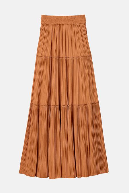 A.L.C. Women's Thea Skirt - Cashew