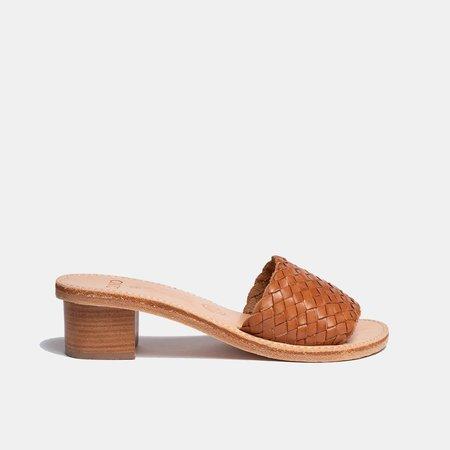 The CANO Shoe CARMEN sandal - Cognac