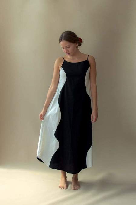 Nin Studio Flow Dress - Black/White