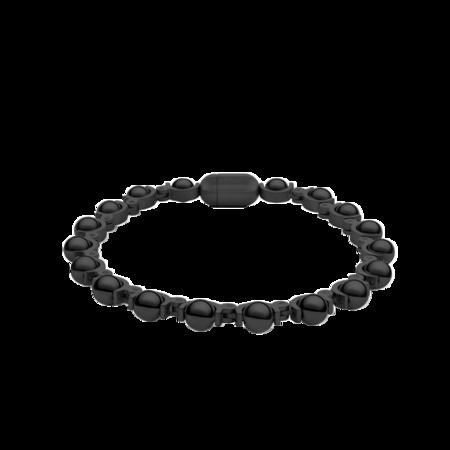 Italgem Sachi Bead Bracelet - Black