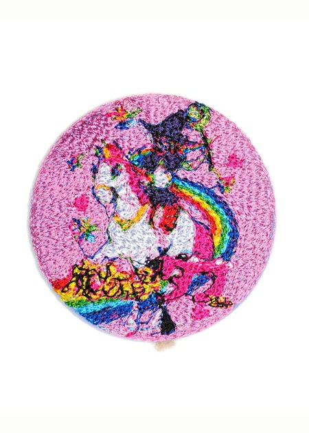 Doublet Embroidery Badge - Pink