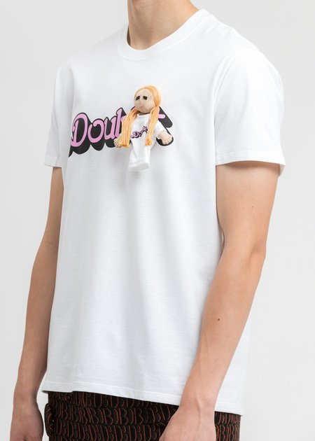 Doublet T-Shirt With My Doll - White