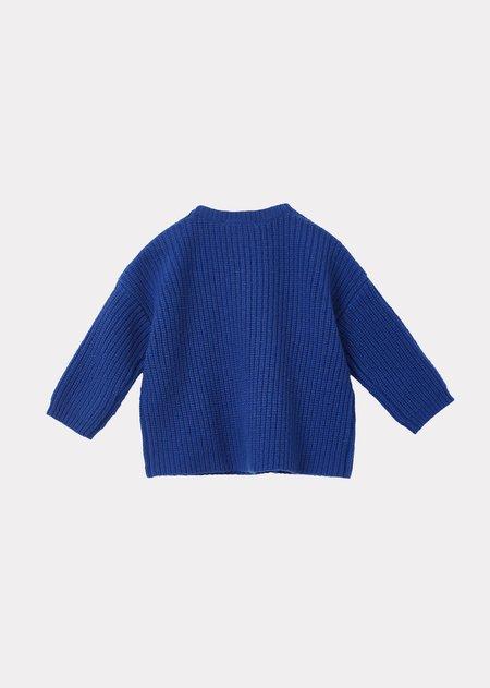 kids Caramel Elford Baby Jumper sweater - Azure Blue