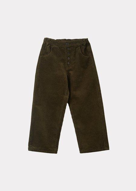 kids Caramel Neptune Trousers - Olive