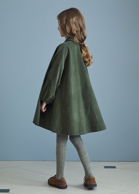 kids Caramel Venus Dress - Olive