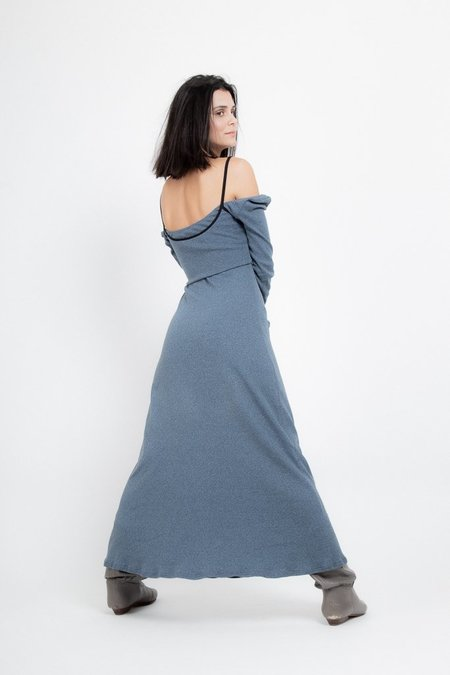 Rachel Mills Harry Dress - Slate Melange