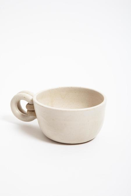 Jan Schachter Cappuccino Mug - White Ash