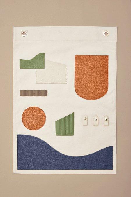 OAD Wall Hanging Pocket Art - Neutrals