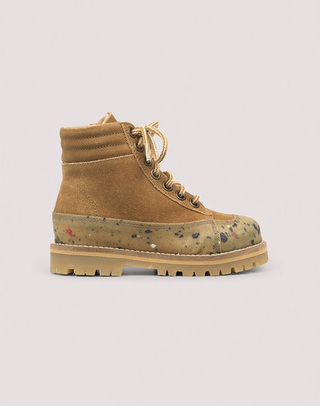 Kids Petit Nord Rugged Boot - Amber Suede
