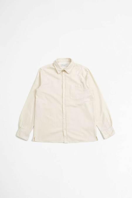 Officine Generale Alex Japanese Organic Cotton Shirt - Ecru