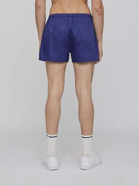 LES GIRLS LES BOYS Woven Boxer shorts - purple