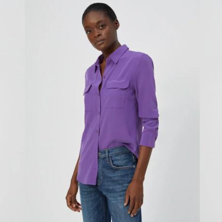 Equipment Slim Signature Silk Shirt